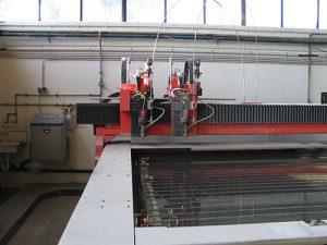 CNC Bystronic Hochdruck-Wasserstrahlschneiden 2000 x 3000 mm
